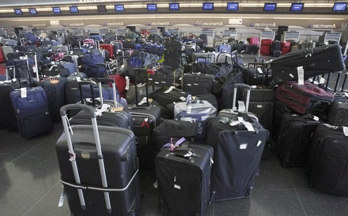 Airport luggages