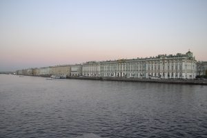 Hermitage Museum view from the Nieva