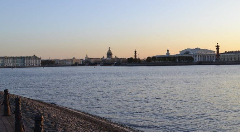 Peter and Paul Fortress View